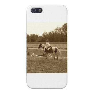 Sepia Horse Items iPhone SE/5/5s Cover