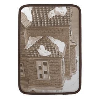 Sepia house sleeve for MacBook air