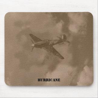 sepia hurricane, mouse pad