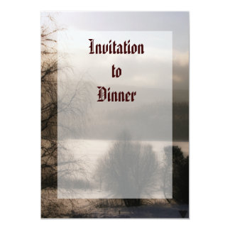 Sepia Invitación