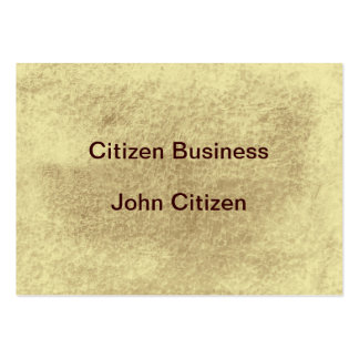 Sepia leather look texture large business card