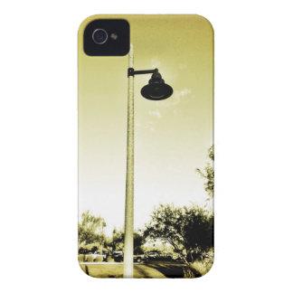 Sepia Lightpole Street Lamp iPhone Case