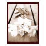 Sepia Lily Letterhead