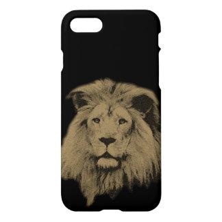 Sepia Lion iPhone 7 Case