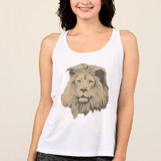 Sepia Lion Tank Top