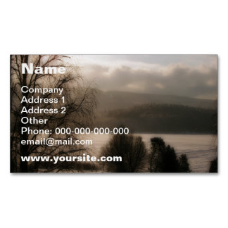 Sepia Magnetic Business Card