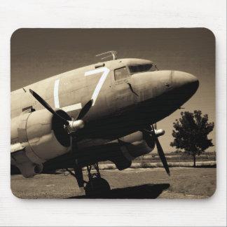 Sepia Mousepad del C-47 Tapete De Ratones