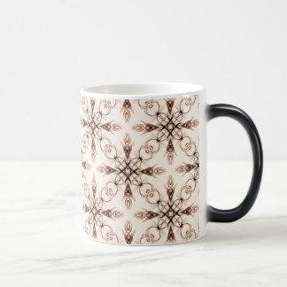 Sepia Neo Victorian Woodland Fractal Magic Mug