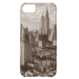 Sepia New York City Cover For iPhone 5C