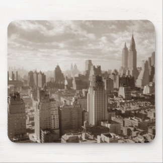 Sepia New York City Mouse Pad