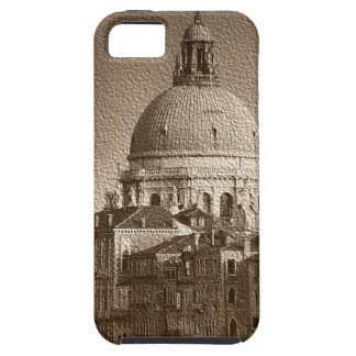 Sepia Paper Effect Venice Grand Canal iPhone 5 Cases