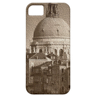 Sepia Paper Effect Venice Grand Canal iPhone SE/5/5s Case
