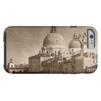 Sepia Paper Effect Venice Grand Canal Tough iPhone 6 Case