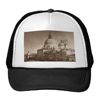 Sepia Paper Effect Venice Grand Canal Trucker Hat