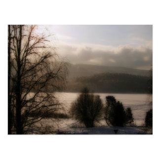 Sepia Postcard