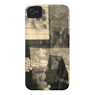 Sepia Reflections iPhone 4 Case