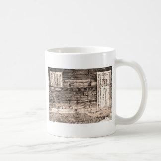 Sepia Rustic Old Colorado Barn Door and Window Coffee Mug