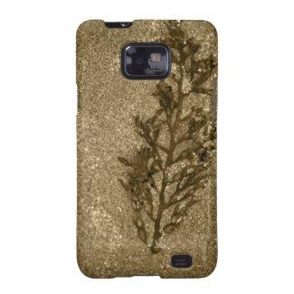 Sepia Sandy Beach Textures Galaxy SII Case