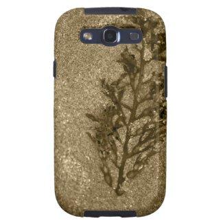 Sepia Sandy Beach Textures Samsung Galaxy S3 Case