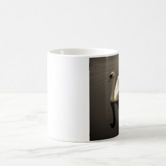 sepia swan mug