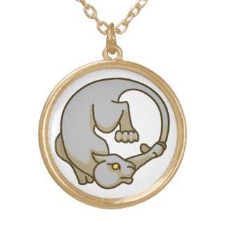 Sepia Tailchaser Necklace