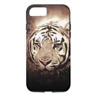 Sepia Tiger Tough iPhone 7 Case