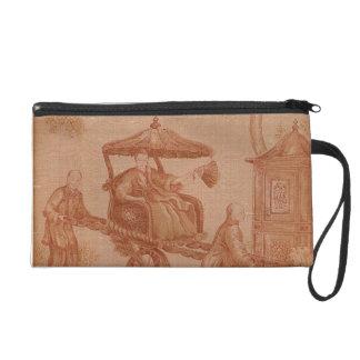 Sepia Toile - Chinese Empress Wristlet