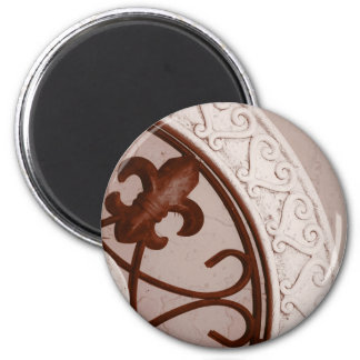 Sepia-tone Medallion magnet