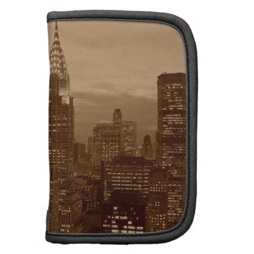 Sepia Tone New York City Planner