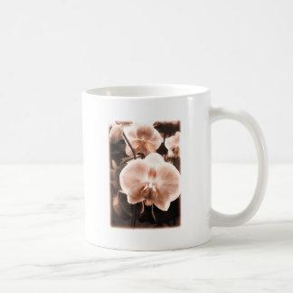 Sepia Tone Phalaenopsis Orchid Classic White Coffee Mug