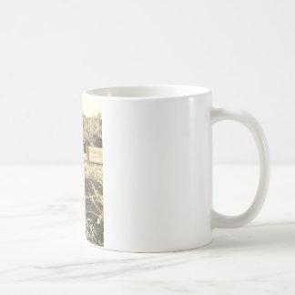 Sepia Tone  Photo of  brown Horse Coffee Mug