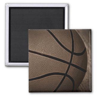 Sepia Toned Basketball Magnet