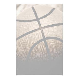 Sepia  Toned Basketball Stationery