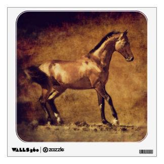 Sepia Toned Rustic Horse Art Wall Graphic