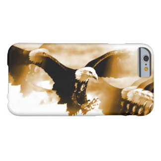 Sepia Tones Flying Eagle iPhone 6 Case
