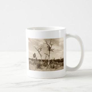 Sepia Trees Coffee Mug