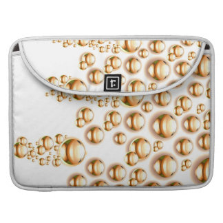 Sepia water droplets sleeve for MacBooks