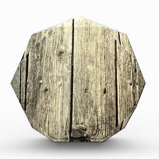 Sepia Weathered Wood Fence Texture Award