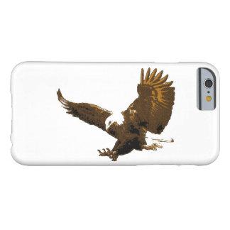 Sepia White Landing Eagle iPhone 6 Case