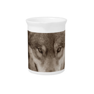 Sepia Wolf Beverage Pitcher