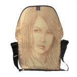 Sepia Woman II Commuter Bag