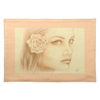 Sepia Woman Placemat