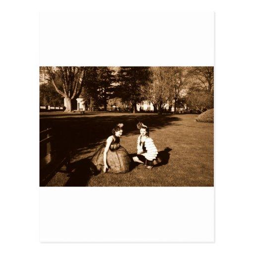 Sepiagirls Postcard