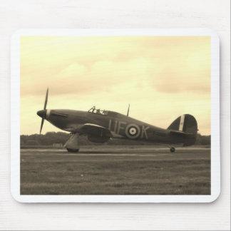 Sepiatone Hawker Hurricane Mouse Pad