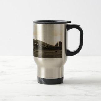 Sepiatone Hawker Hurricane Travel Mug