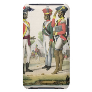 Sepoys from L Inde Francaise by M E Burnouf e iPod Touch Cover