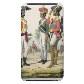 Sepoys from L Inde Francaise by M E Burnouf e iPod Touch Case-Mate Case