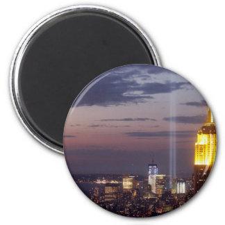 sept 11 2001 2 inch round magnet