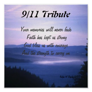 Sept 11 tribute posters