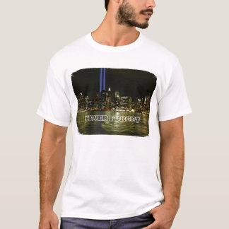 Sept 11th Memorial Lights T-Shirt